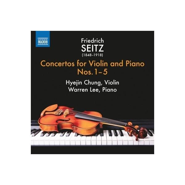 ザイツ、フリードリヒ(1848-1918) / ヴァイオリンとピアノのための協奏曲集 第1集 チョン・ヘジン、ウォーレン・リー【CD】