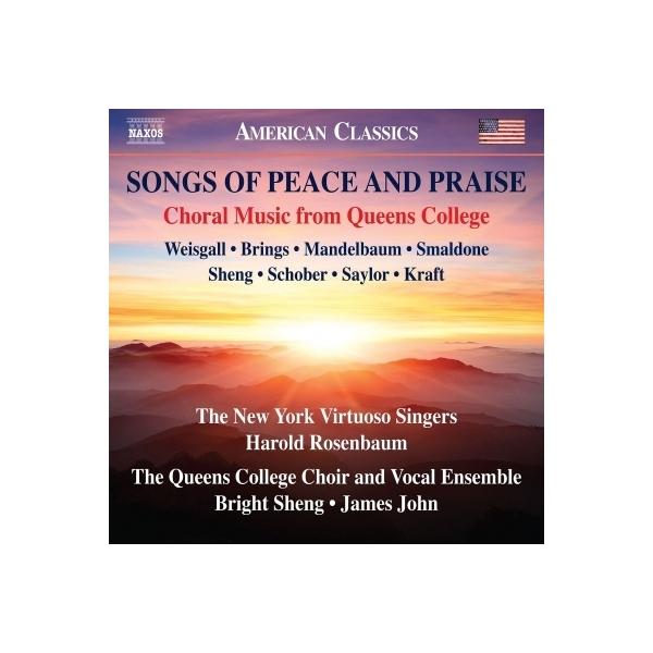 合唱曲オムニバス / 『平和と賞賛の歌』 ニューヨーク・ヴィルトゥオーゾ・シンガーズ、クイーンズ校合唱団&ヴォーカル・アンサンブル【CD】