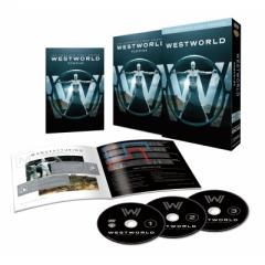 【初回限定生産】ウエストワールド<ファースト・シーズン>DVD コンプリート・ボックス(3枚組/ウエストワールド運営マニュアル付)【DVD】