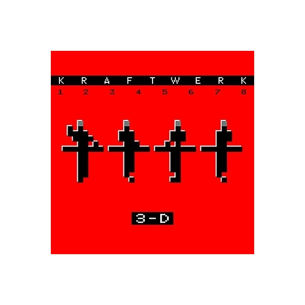 Kraftwerk クラフトワーク / 12345678 3-D【CD】