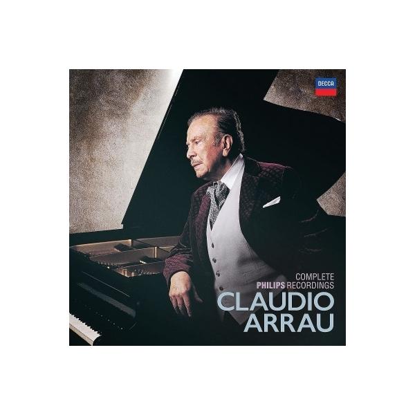 ピアノ作品集 / クラウディオ・アラウ/フィリップス録音全集(80CD)【CD】