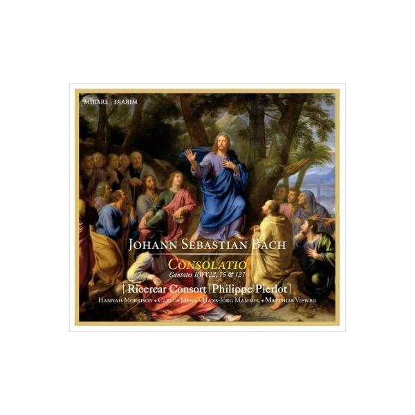 Bach, Johann Sebastian バッハ / カンタータ第22番、第75番、第127番 フィリップ・ピエルロ&リチェルカール・コンソート【CD】