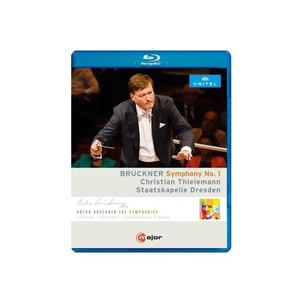 Bruckner ブルックナー / 交響曲第1番 クリスティアーン・ティーレマン&シュターツカペレ・ドレスデン【BLU-RAY DISC】