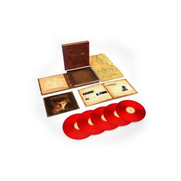 ロード オブ ザ リング  / ロード オブ ザ リング Lord Of The Rings:  Fellowship Of The Ring サウンドトラック (BOX仕様 / 5枚組アナログレコード)【LP】