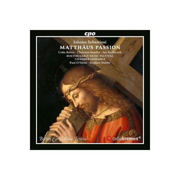 セバスティアーニ、ヨハン(1622-1683) / マタイ受難曲 ポール・オデット&スティーヴン・スタッブズ、ボストン古楽音楽祭声楽アンサンブル【CD】