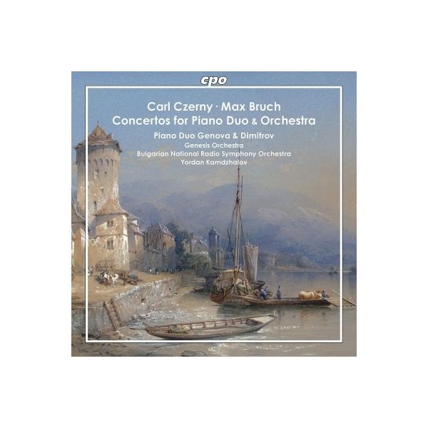 Bruch ブルッフ / ブルッフ:2台ピアノのための協奏曲、ツェルニー:4手ピアノのための協奏曲 ジェノヴァ&ディミトリー・ピアノ・デュオ、カムツァロフ&ブルガリア国立放送響、他【CD】