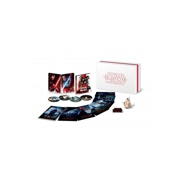 スター・ウォーズ/最後のジェダイ 4K UHD MovieNEX プレミアムBOX(数量限定)【BLU-RAY DISC】