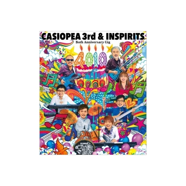 Casiopea 3rd / Inspirits / Both Anniversary Gig 『4010』【BLU-RAY DISC】