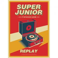 Super Junior スーパージュニア / 8集 Repackage:  REPLAY【CD】