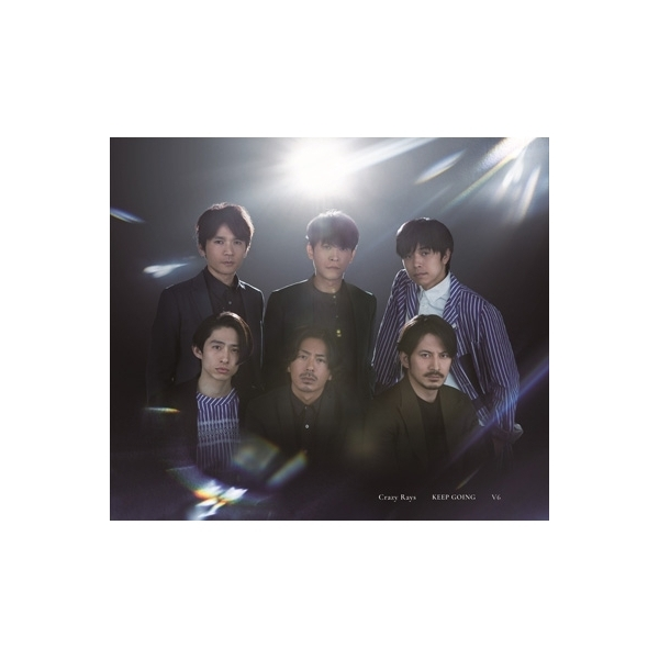V6 / Crazy Rays  /  KEEP GOING 【初回盤A】(+DVD)【CD Maxi】