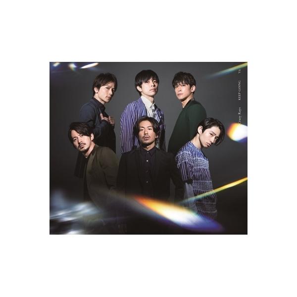 V6 / Crazy Rays  /  KEEP GOING 【初回盤B】(+DVD)【CD Maxi】