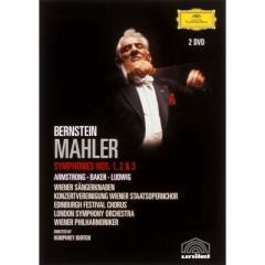 Mahler マーラー / 交響曲第1番『巨人』、第2番『復活』、第3番 レナード・バーンスタイン&ウィーン・フィル、ロンドン響、他(2DVD)【DVD】