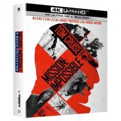 ミッション: インポッシブル 5 ムービー・コレクション [4K ULTRA HD + Blu-rayセット]【BLU-RAY DISC】