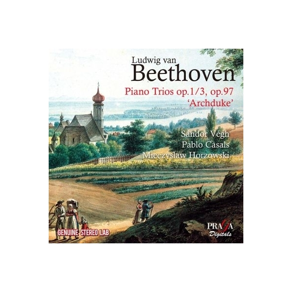 Beethoven ベートーヴェン / ピアノ三重奏曲第7番『大公』、第3番 ホルショフスキ、ヴェーグ、カザルス【CD】