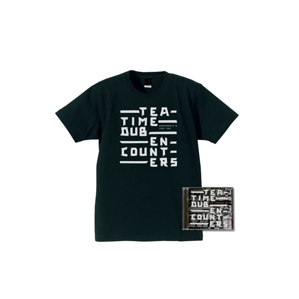 Underworld / Iggy Pop / Teatime Dub Encounters 【Tシャツ付き限定盤】<CD+Tシャツ(XL)>【CD】