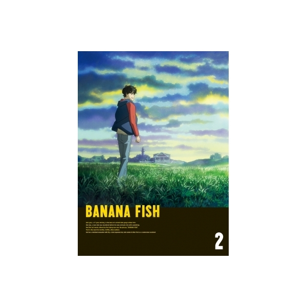 BANANA FISH Blu-ray Disc BOX 2 【完全生産限定版】【BLU-RAY DISC】