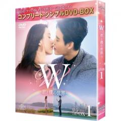 W -君と僕の世界- BOX1 (全2BOX) <コンプリート・シンプルDVD-BOX> 【期間限定生産】【DVD】