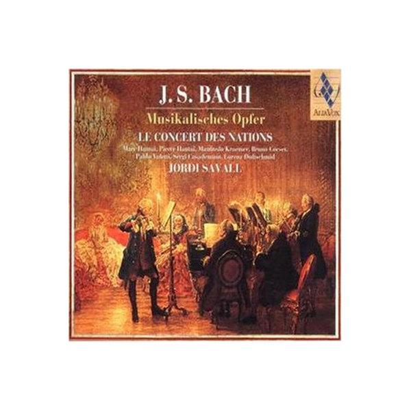 Bach, Johann Sebastian バッハ / Musikalisches Opfer:  Savall  /  Concert Des Nations【CD】