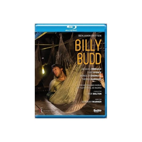 Britten ブリテン / 『ビリー・バッド』全曲 ワーナー演出、ボルトン&マドリード王立歌劇場、ジャック・インブライロ、トビー・スペンス、他(2017 ステレオ)(日本語字幕付)【BLU-RAY DISC】