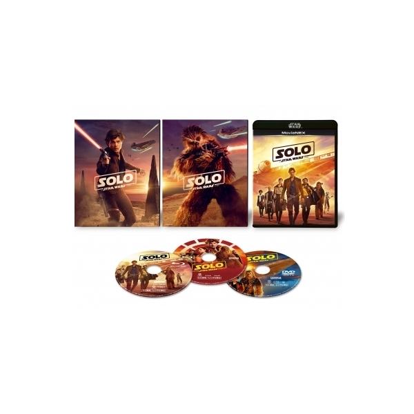 ハン・ソロ/スター・ウォーズ・ストーリー MovieNEX[ブルーレイ+DVD]【初回限定仕様:SWブラック・パッケージ/アウターケース】【BLU-RAY DISC】