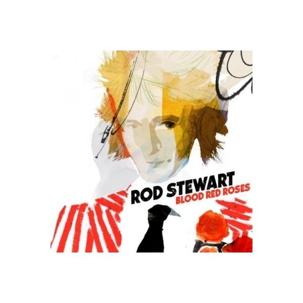 Rod Stewart ロッドスチュワート / Blood Red Roses (2枚組アナログレコード)【LP】