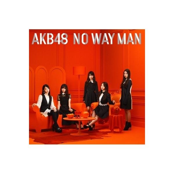 AKB48 / NO WAY MAN 【Type C 初回限定盤】(+DVD)【CD Maxi】