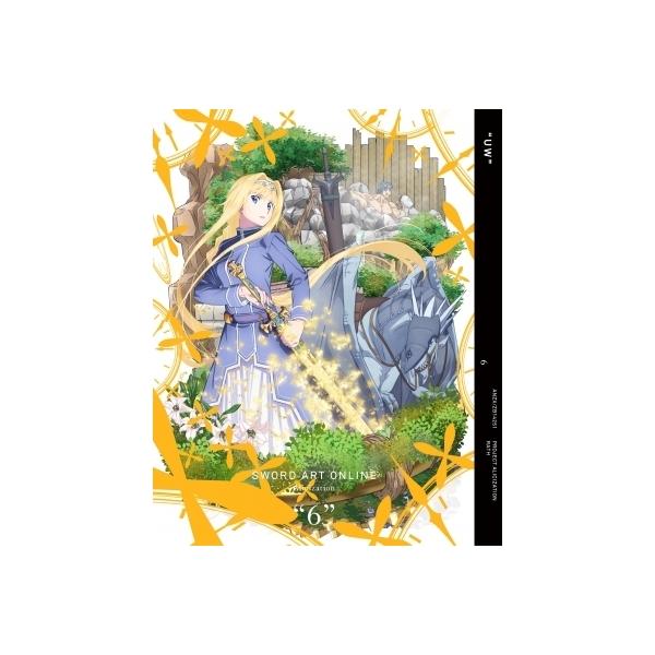 ソードアート・オンライン アリシゼーション 6 【完全生産限定版】【BLU-RAY DISC】