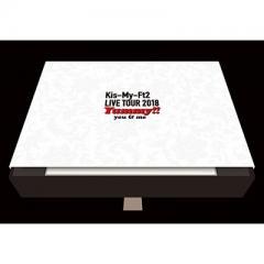 Kis-My-Ft2 / LIVE TOUR 2018 Yummy!! you & me 【初回盤】(3DVD+2CD)【DVD】