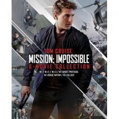 【送料無料】 ミッション: インポッシブル 6ムービーDVDコレクション<初回限定生産>ボーナスDVD付き 7枚組【DVD】
