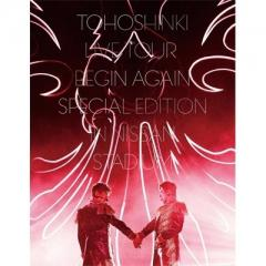 東方神起 / 東方神起LIVE TOUR ~Begin Again~ Special Edition in NISSAN STADIUM 【初回生産限定盤】 (2Blu-ray+写真集)【BLU-RAY DISC】