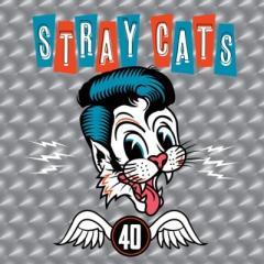 10%OFFクーポン対象商品 【送料無料】 Stray Cats ストレイキャッツ / 40 (アナログレコード)【LP】 クーポンコード:YVDDB37