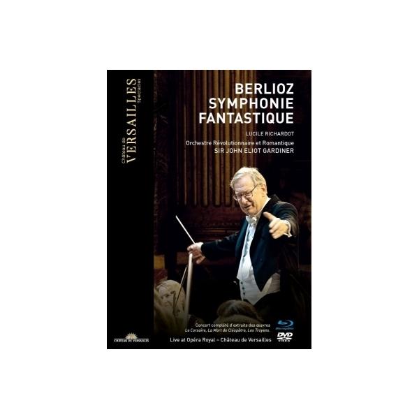 Berlioz ベルリオーズ / 幻想交響曲、クレオパトラの死、他 ジョン・エリオット・ガーディナー&オルケストル・レヴォリューショネル・エ・ロマンティーク(2018)(+DVD)【BLU-RAY DISC】