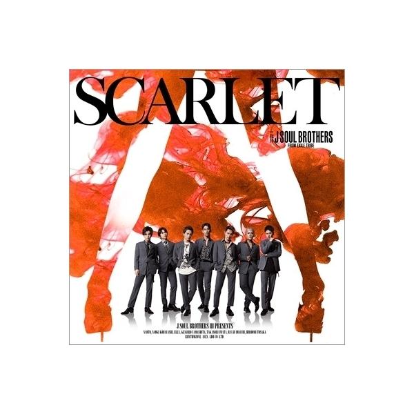 三代目 J SOUL BROTHERS from EXILE TRIBE / SCARLET (+DVD)【CD Maxi】