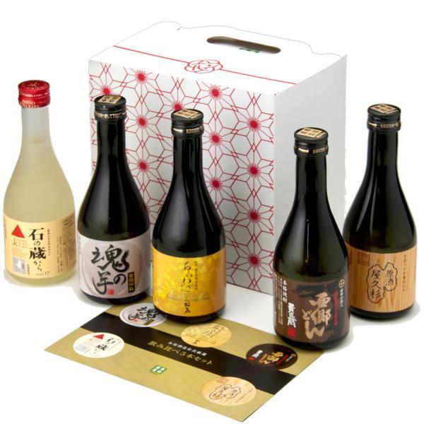 【送料無料】杜氏厳選 芋焼酎 飲み比べ 5本セット 本坊酒造【MPCP_FD】
