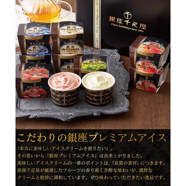 お中元 ギフト アイス 送料込み 「銀座千疋屋」銀座プレミアムアイス のし対応可(PGS-036)