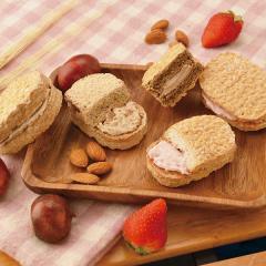 お歳暮 ギフト 洋菓子 送料込み 「大麦工房」冬ギフトセット 簡易包装 のし対応可 (Q20-19)