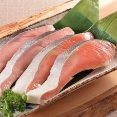 お歳暮 ギフト 海鮮 送料込み 時鮭・紅鮭セット 簡易包装 のし対応可 (TZBZ-2)