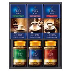 お歳暮 ギフト 飲料 送料込み AGF ちょっと贅沢な珈琲店ドリップ&インスタントコーヒー 持参包装可 のし対応可 (ZA-30N)