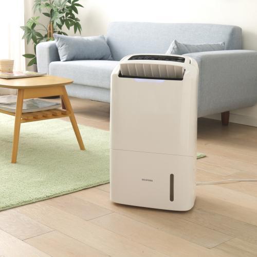 (送料無料)空気清浄機能付除湿機+サーキュレーター白セット (1900447)アイリスオーヤマ