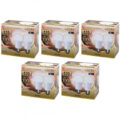 【10個セット】LED電球 E26 全方向タイプ 100W形相当 電球色相当 LDA15L-G/W-10T52P (1900618) アイリスオーヤマ