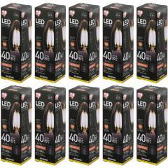 LEDフィラメント電球 E17 全方向 40形相当 LDC4N-G-E17-FCV2・LDC4L-G-E17-FCV2 10個セット(1901807) アイリスオーヤマ (送料無料)