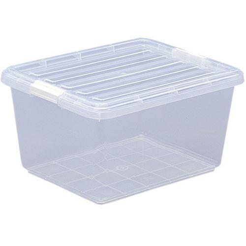 クリアボックス CB-25 衣類収納ケース 衣装ケース 収納ボックス 押入れ プラスチック フタ付き(229017) アイリスオーヤマ