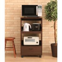 (送料無料)キッチンボード KBD-500 ブラウンオーク (250223) アイリスオーヤマ