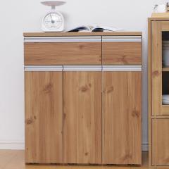 キッチンカウンター ペールカウンター PKT-8670 ゴミ箱付き ペールつき(251106) アイリスオーヤマ (送料無料)