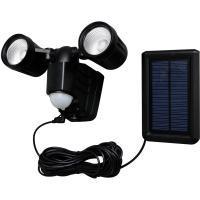 防犯灯 LED 人感センサー 屋外 ソーラー式センサーライト 高輝度 2灯式 LSL-SBTN-400  玄関照明 玄関灯(270244) アイリスオーヤマ (送料無料)