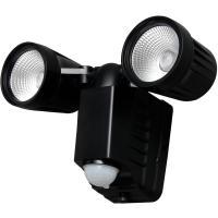 乾電池式センサーライト 2灯 高輝度 LSL-B2TN-400D  アイリスオーヤマ(270248)アイリスオーヤマ