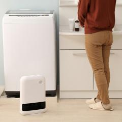 セラミックヒーター 暖房器具 人感センサー付き 1200W メカ式 大風量セラミックファンヒーター セラミックファンヒーター あったか ヒーター JCH-12DD3-W ホワイト (273923) アイリスオーヤマ
