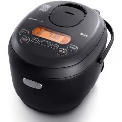炊飯器 3合 アイリスオーヤマ 一人暮らし 銘柄 生活 炊飯 ご飯 米 米屋の旨み 銘柄炊き ジャー炊飯器 3合 ブラック KRC-MD30-B (509254)