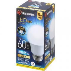 LED電球 E26 広配光 60形相当 LDA7N-G-6T6 昼白色 (521608) アイリスオーヤマ