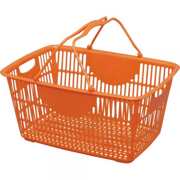 車載バスケット 収納 かご フリーバスケット オレンジ FRBA-33(529176) アイリスオーヤマ